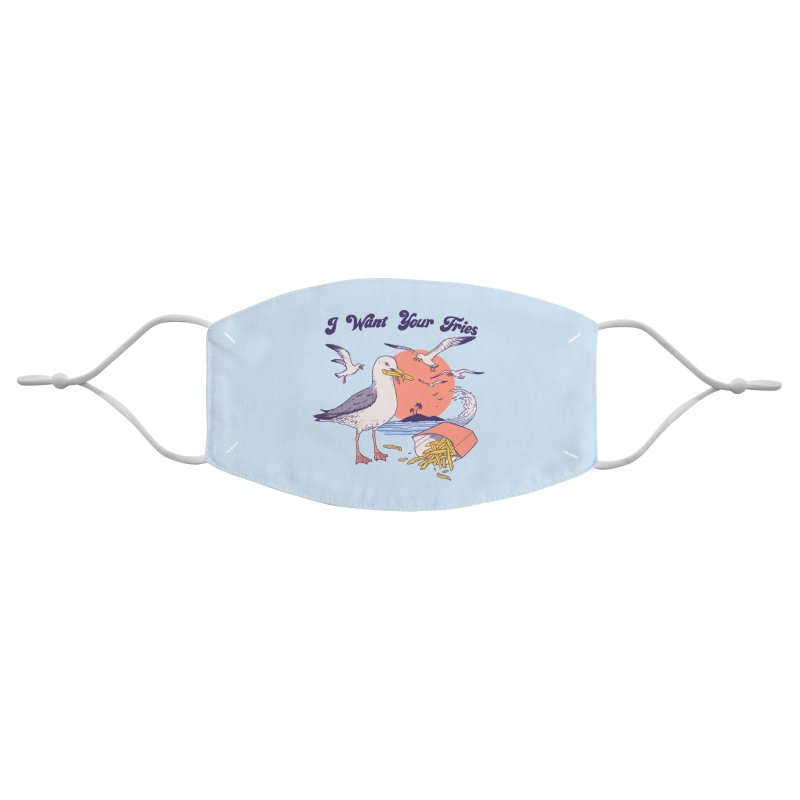 I Want Your Fries Accessories Face Mask by Hillary White Rabbit