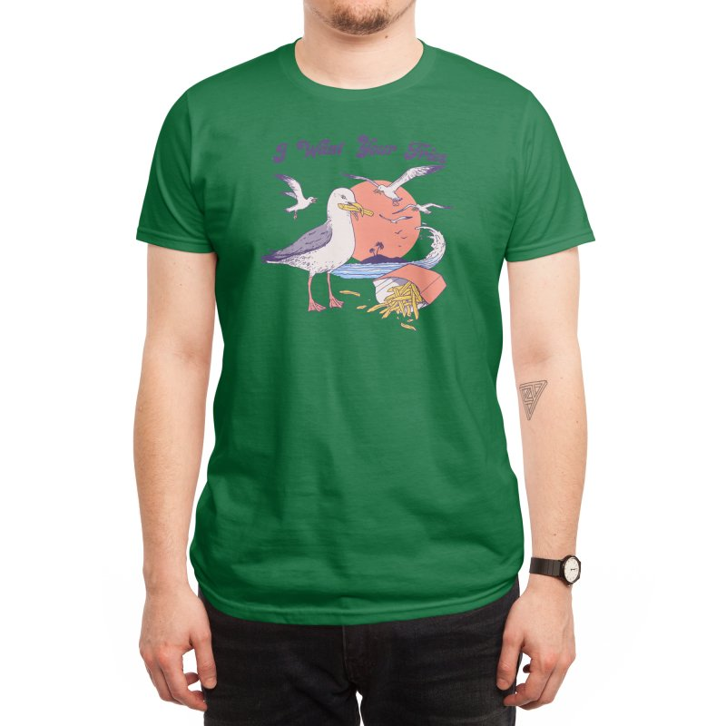 I Want Your Fries Men's T-Shirt by Hillary White Rabbit