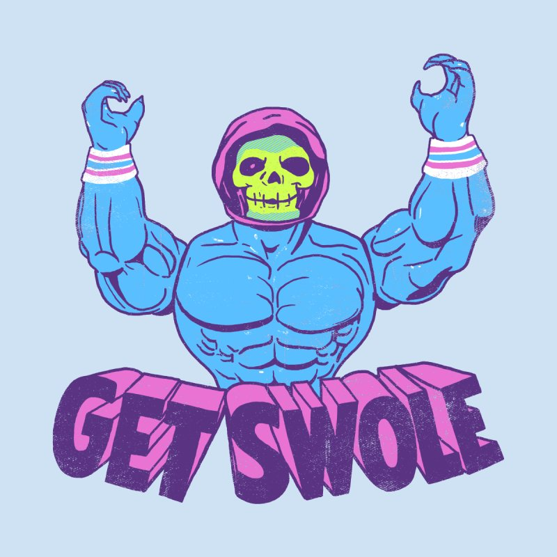 Get Swole Men's T-Shirt by hillarywhiterabbit's Artist Shop