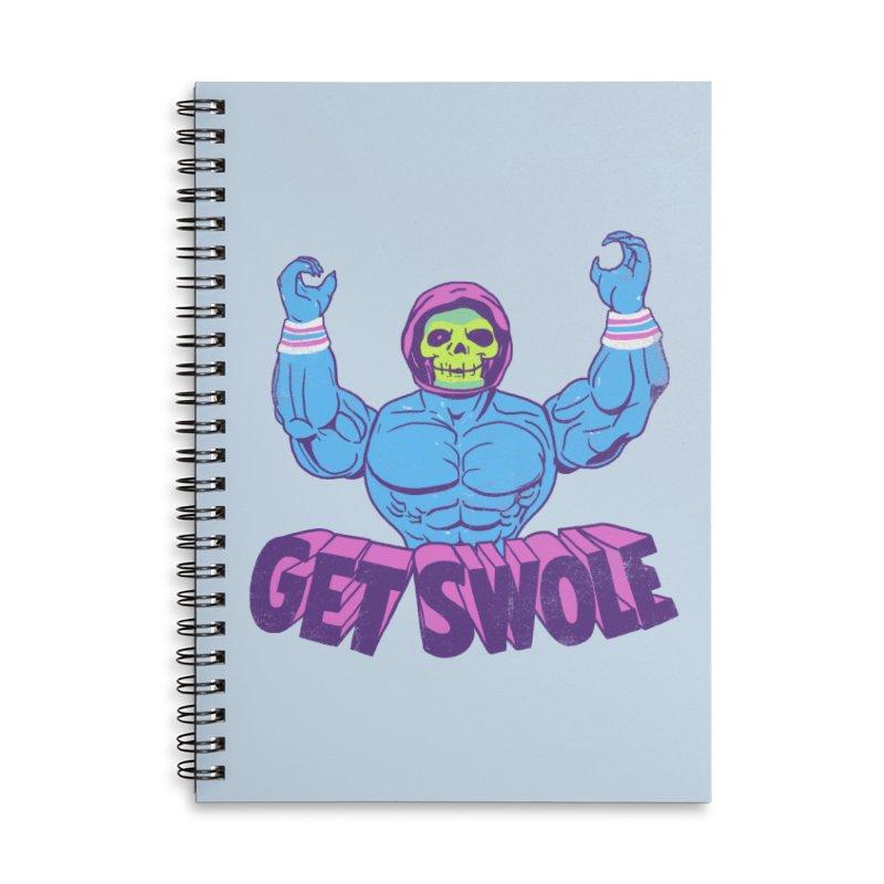 Get Swole Accessories Notebook by hillarywhiterabbit's Artist Shop