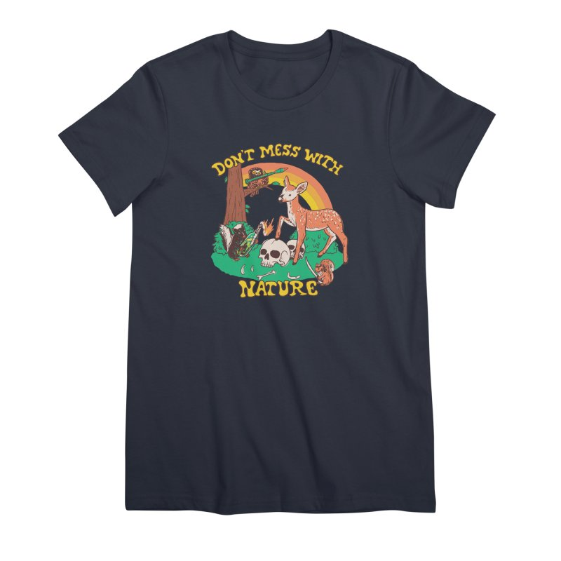 Don't Mess With Nature Women's T-Shirt by Hillary White Rabbit