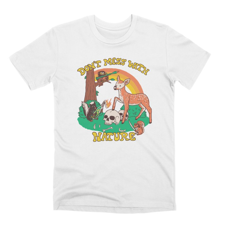Don't Mess With Nature Men's T-Shirt by Hillary White Rabbit