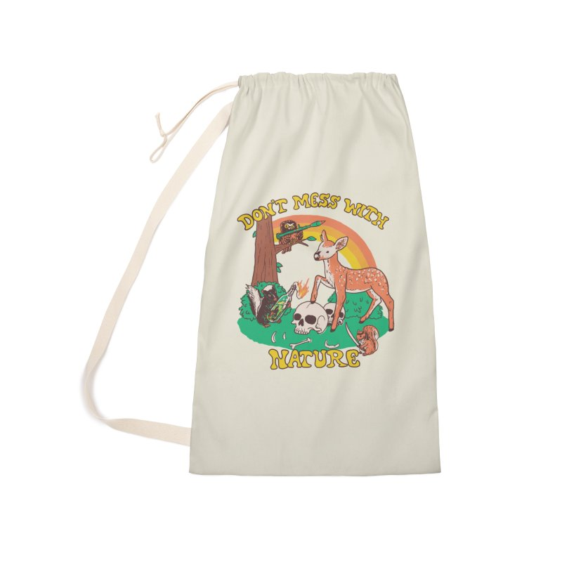 Don't Mess With Nature Accessories Bag by Hillary White Rabbit