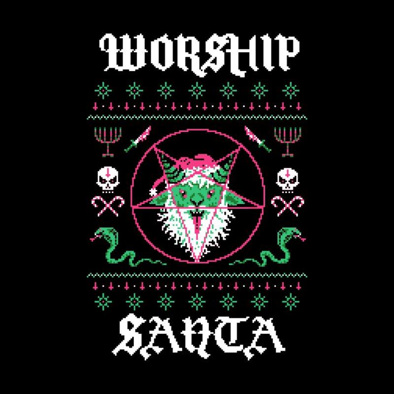 Worship Santa by Hillary White