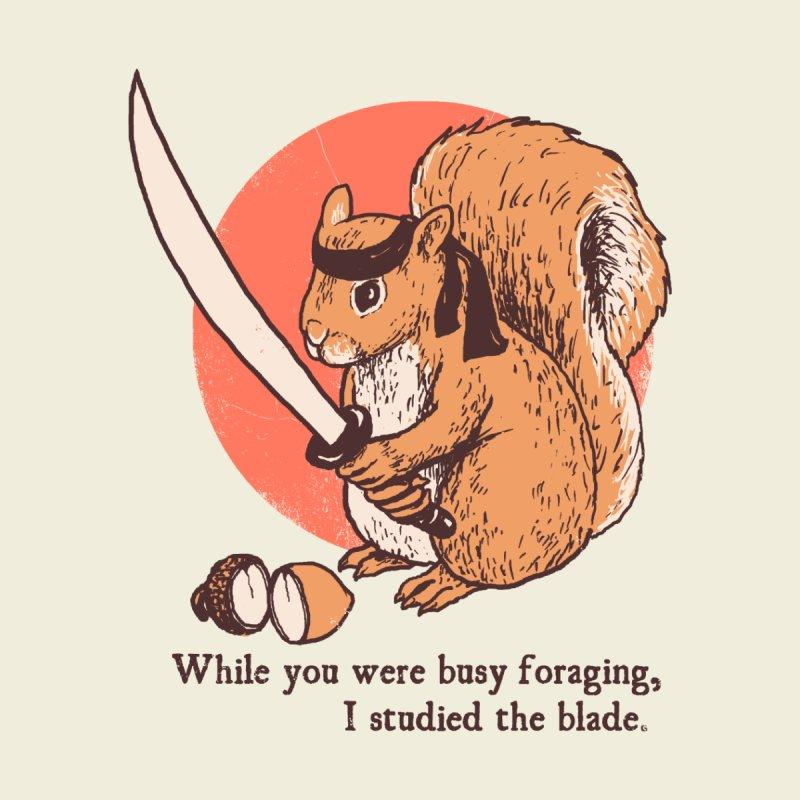 Squirrel Blade Accessories Mug by Hillary White Rabbit