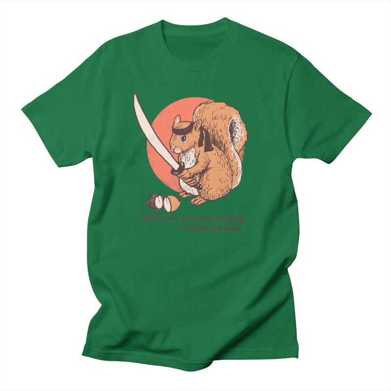 Squirrel Blade Men's T-Shirt by Hillary White Rabbit