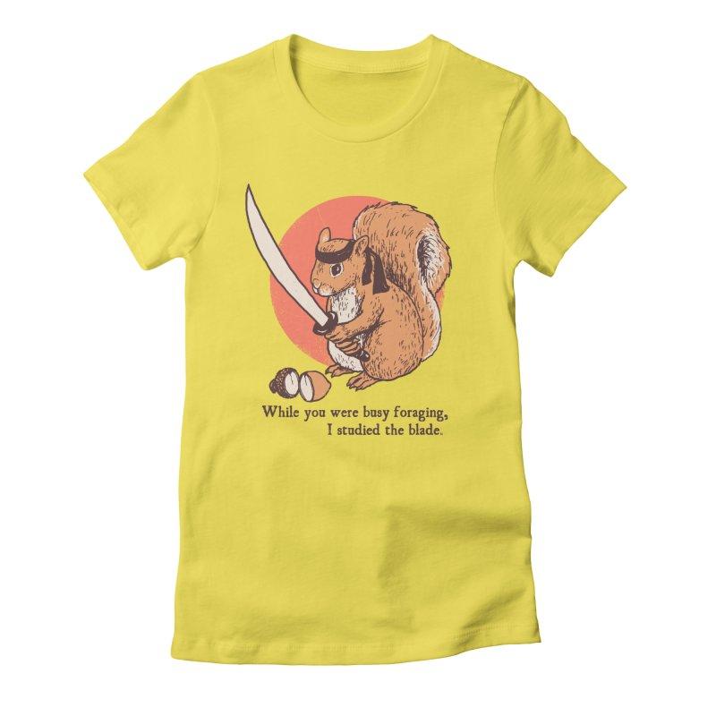 Squirrel Blade Women's T-Shirt by Hillary White Rabbit