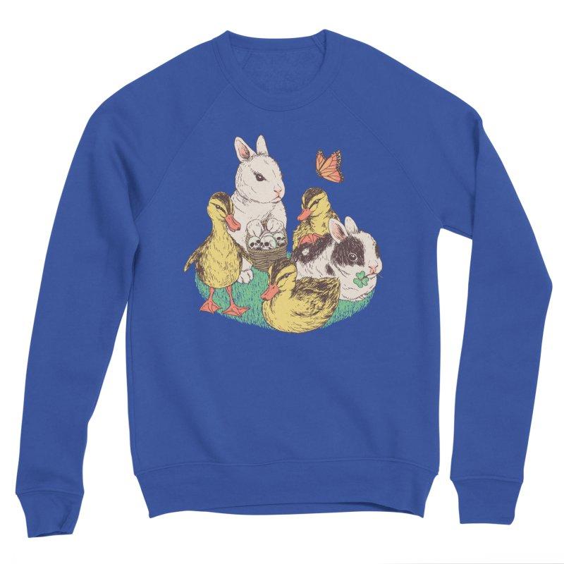 Bunnies and Duckies Men's Sweatshirt by Hillary White Rabbit