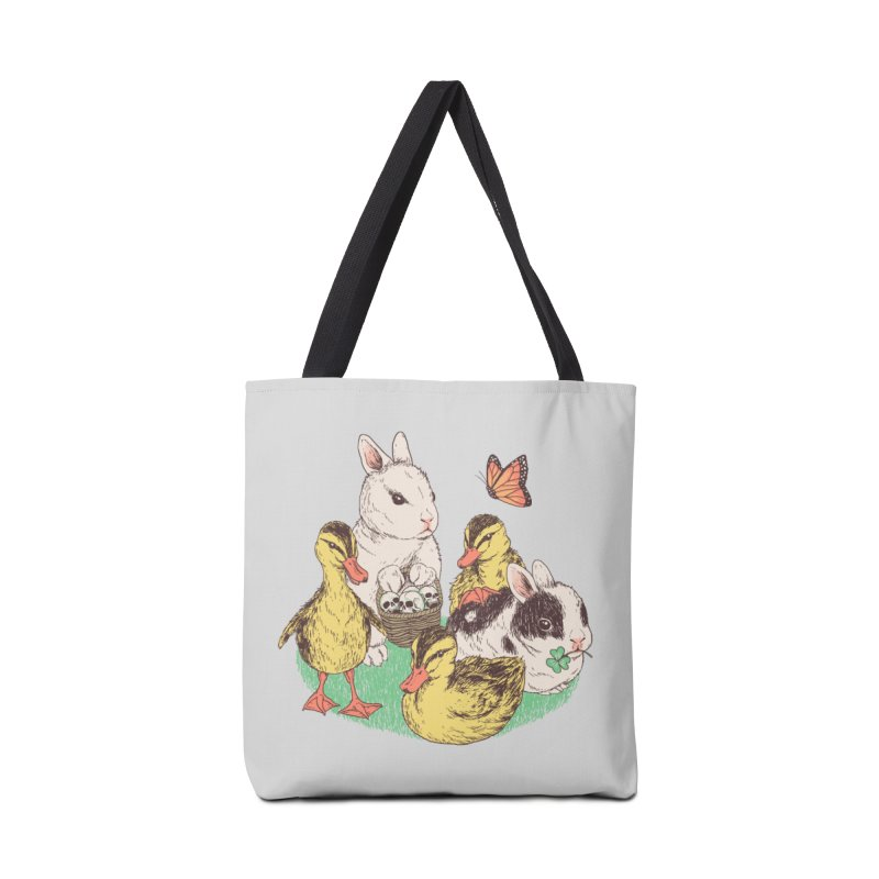 Bunnies and Duckies Accessories Bag by Hillary White Rabbit