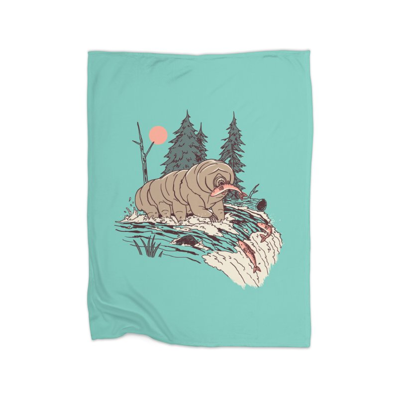 Water Bear Home Blanket by Hillary White Rabbit