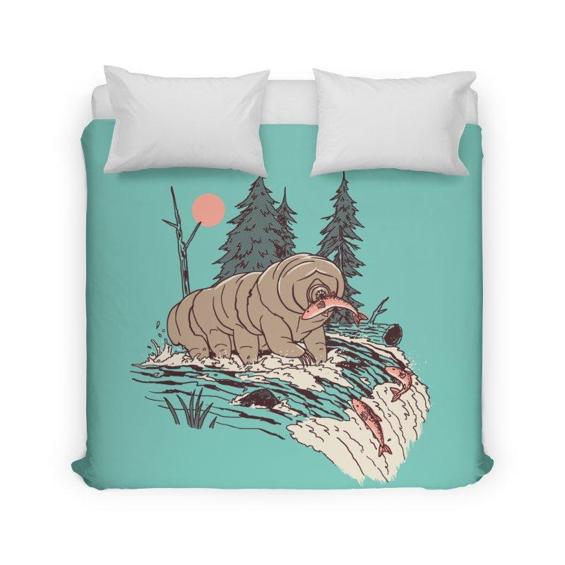 Water Bear Home Duvet by Hillary White Rabbit