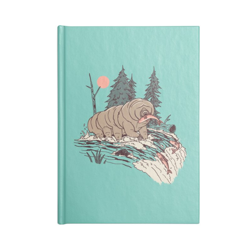 Water Bear Accessories Notebook by Hillary White Rabbit