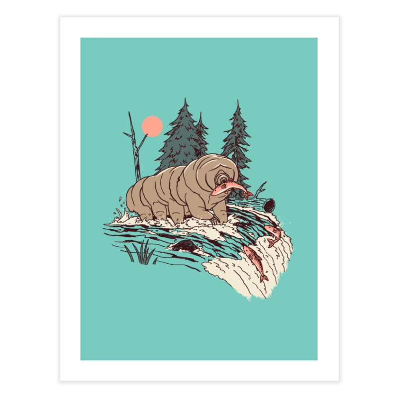 Water Bear Home Fine Art Print by Hillary White Rabbit