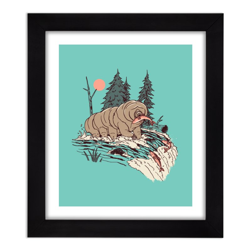 Water Bear Home Framed Fine Art Print by Hillary White Rabbit