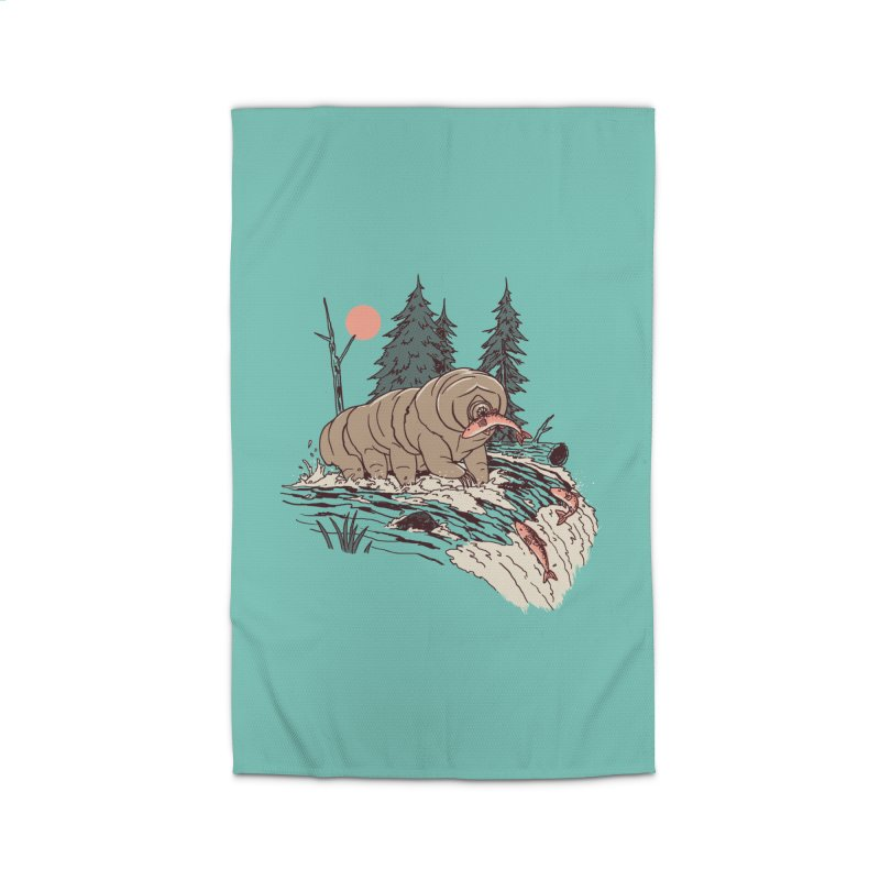 Water Bear Home Rug by Hillary White Rabbit