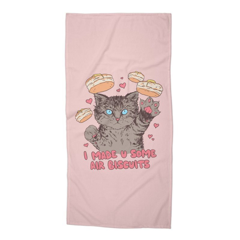 Air Biscuits Accessories Beach Towel by Hillary White Rabbit