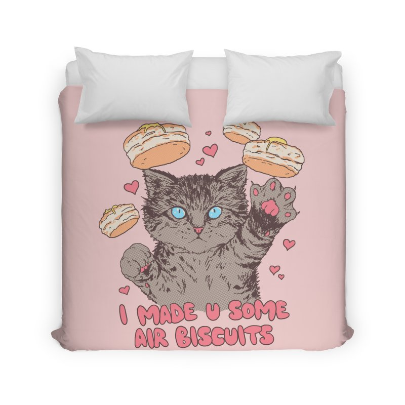 Air Biscuits Home Duvet by Hillary White Rabbit
