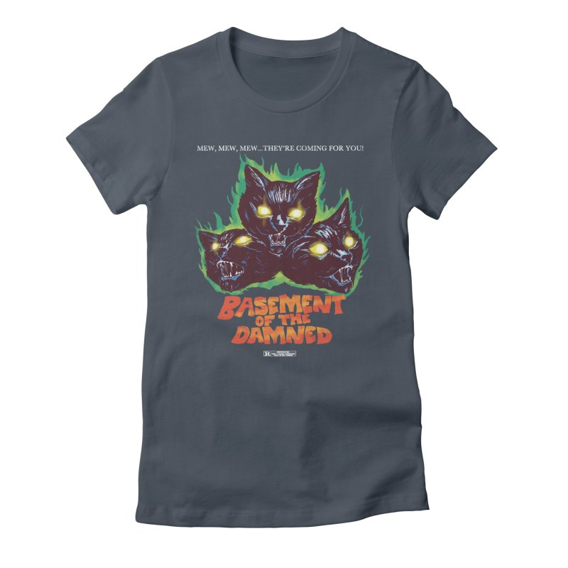 Basement Of The Damned Women's T-Shirt by hillarywhiterabbit's Artist Shop