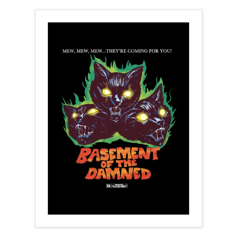 Basement Of The Damned Home Fine Art Print by hillarywhiterabbit's Artist Shop