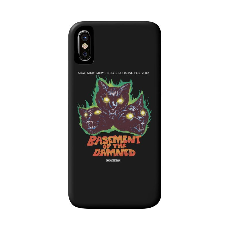 Basement Of The Damned Accessories Phone Case by hillarywhiterabbit's Artist Shop