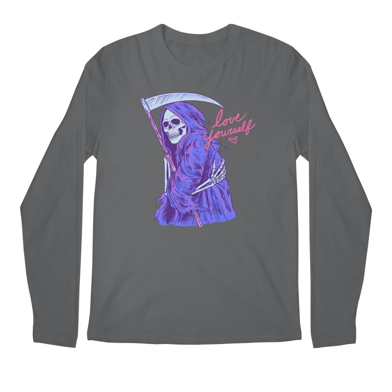 Love Yourself Men's Longsleeve T-Shirt by Hillary White Rabbit