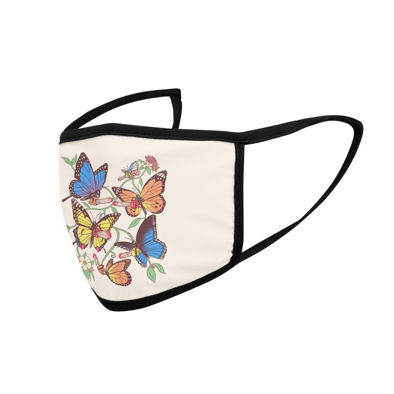 Field Guide To Chaos Accessories Face Mask by Hillary White Rabbit