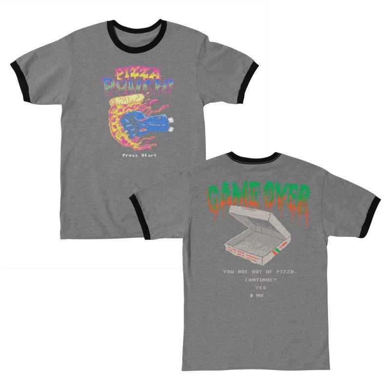 8-bit Pizza Games Women's T-Shirt by Hillary White Rabbit