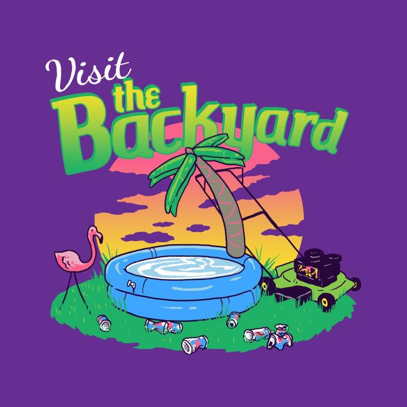 Backyard Vacation None  by hillarywhiterabbit's Artist Shop