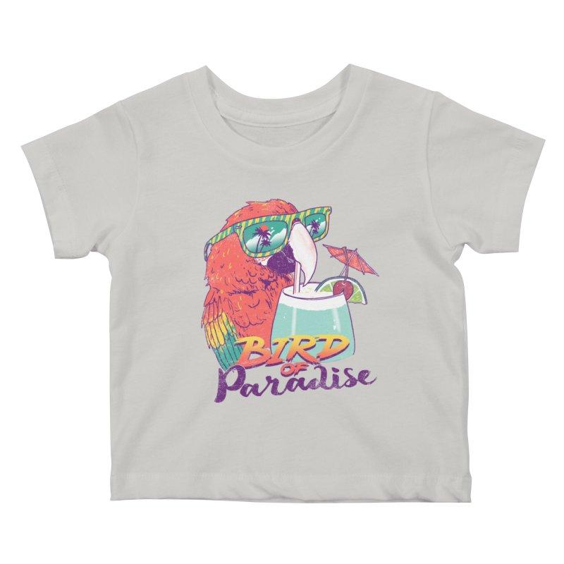 Bird of Paradise Kids Baby T-Shirt by hillarywhiterabbit's Artist Shop