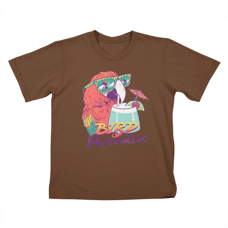 Bird of Paradise Kids T-shirt by hillarywhiterabbit's Artist Shop