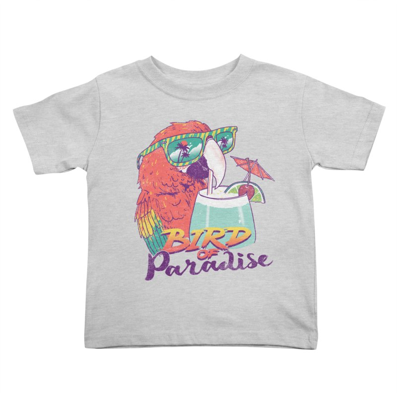 Bird of Paradise Kids Toddler T-Shirt by hillarywhiterabbit's Artist Shop