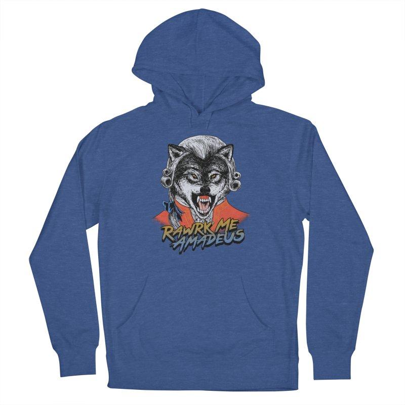 Rawrk Me Amadeus Men's Pullover Hoody by hillarywhiterabbit's Artist Shop