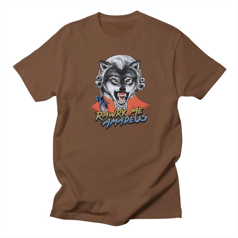 Rawrk Me Amadeus Women's Unisex T-Shirt by hillarywhiterabbit's Artist Shop