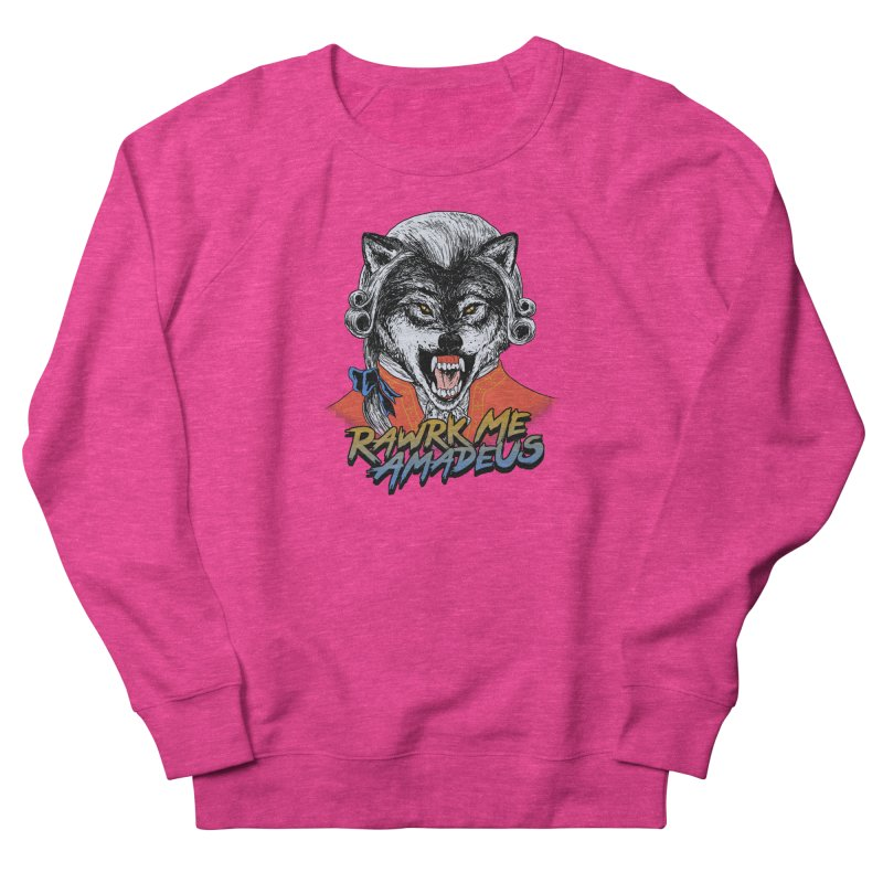 Rawrk Me Amadeus Men's Sweatshirt by hillarywhiterabbit's Artist Shop
