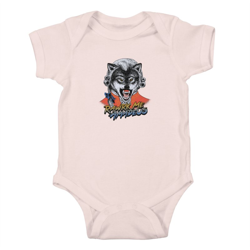 Rawrk Me Amadeus Kids Baby Bodysuit by hillarywhiterabbit's Artist Shop