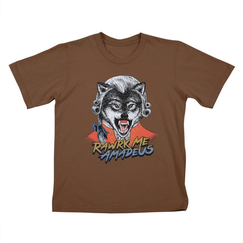Rawrk Me Amadeus Kids T-shirt by hillarywhiterabbit's Artist Shop