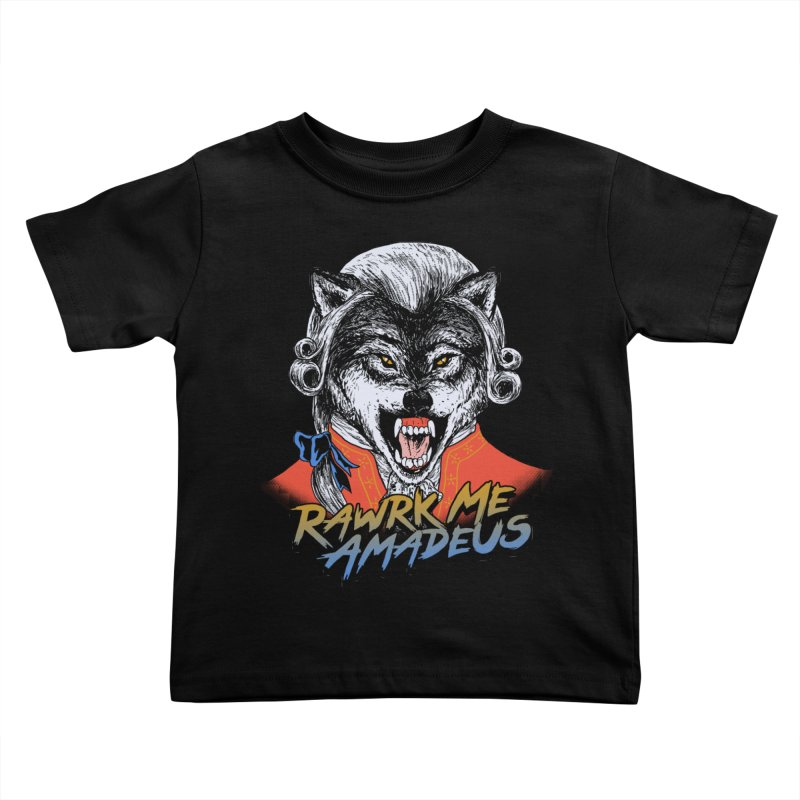 Rawrk Me Amadeus Kids Toddler T-Shirt by hillarywhiterabbit's Artist Shop