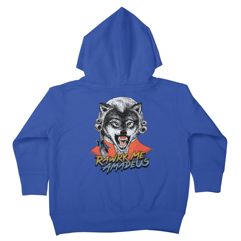 Rawrk Me Amadeus Kids Toddler Zip-Up Hoody by hillarywhiterabbit's Artist Shop