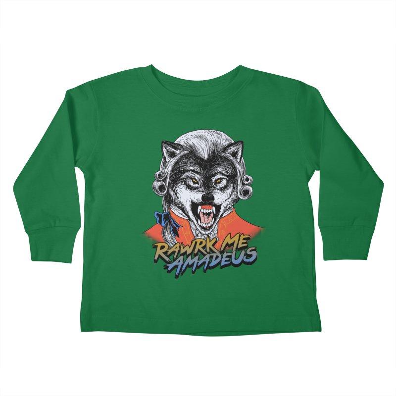 Rawrk Me Amadeus Kids Toddler Longsleeve T-Shirt by hillarywhiterabbit's Artist Shop