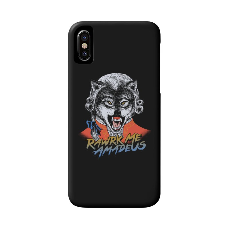 Rawrk Me Amadeus Accessories Phone Case by hillarywhiterabbit's Artist Shop