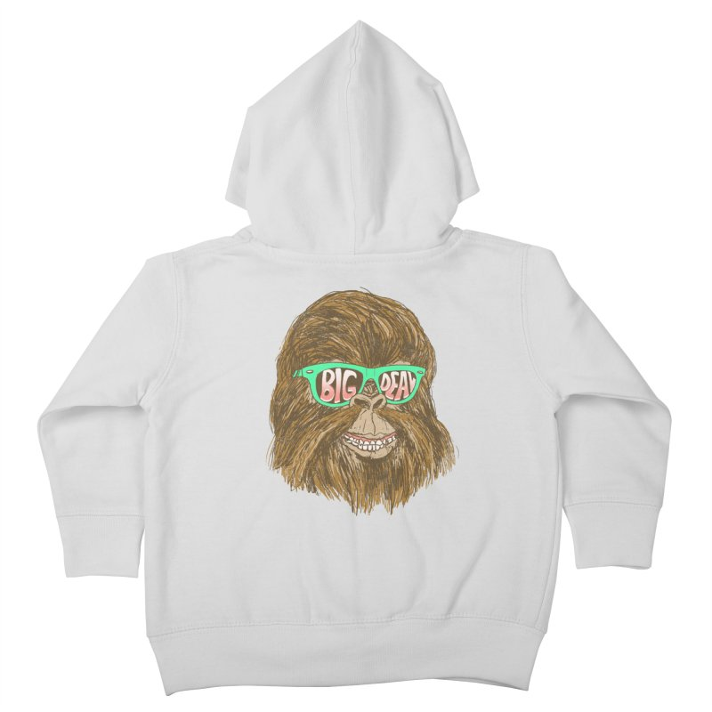 Big Deal Kids Toddler Zip-Up Hoody by hillarywhiterabbit's Artist Shop