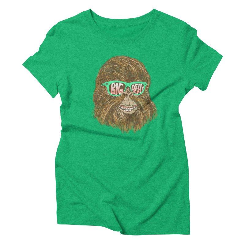 Big Deal Women's Triblend T-shirt by hillarywhiterabbit's Artist Shop