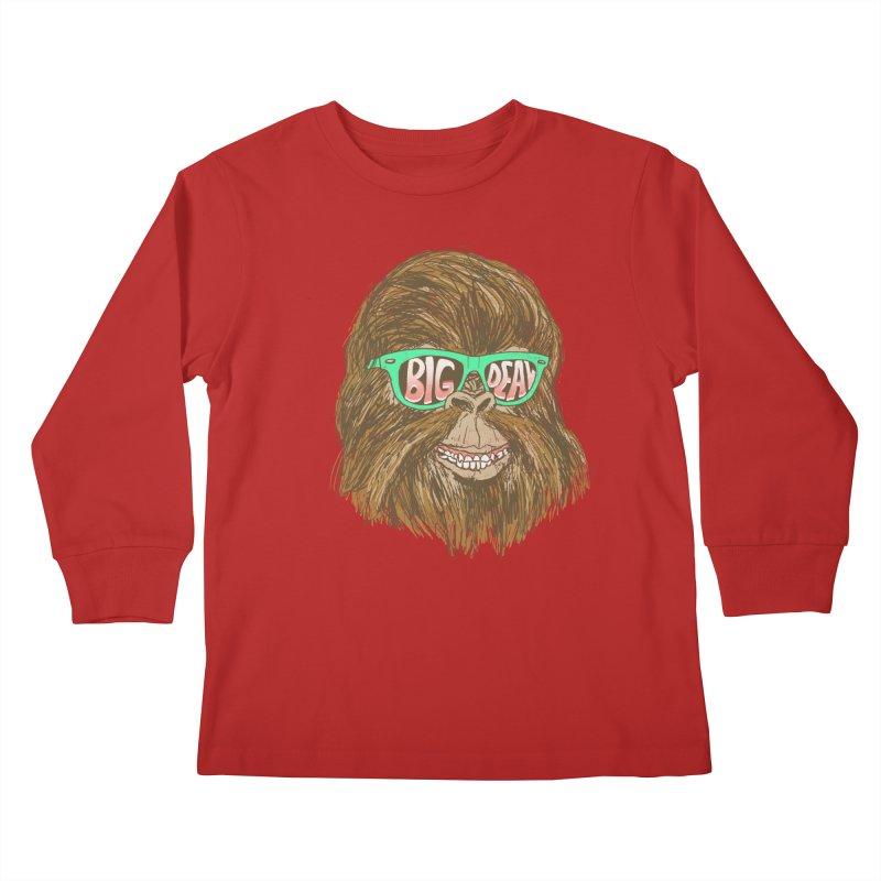 Big Deal Kids Longsleeve T-Shirt by hillarywhiterabbit's Artist Shop