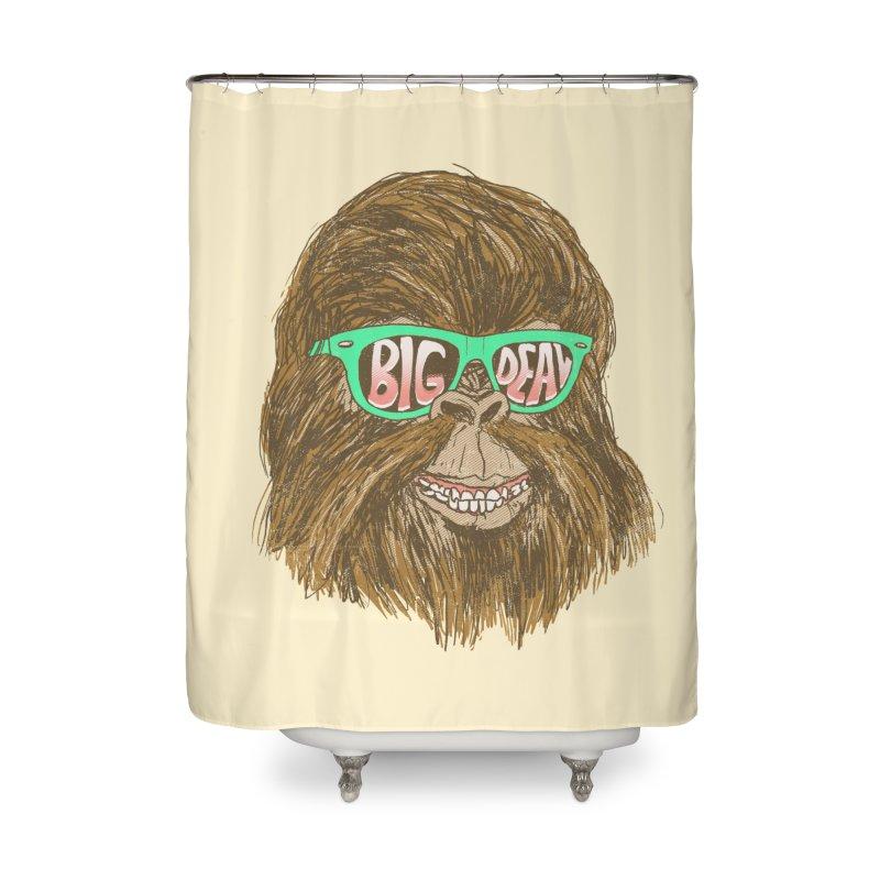 Big Deal Home Shower Curtain by hillarywhiterabbit's Artist Shop
