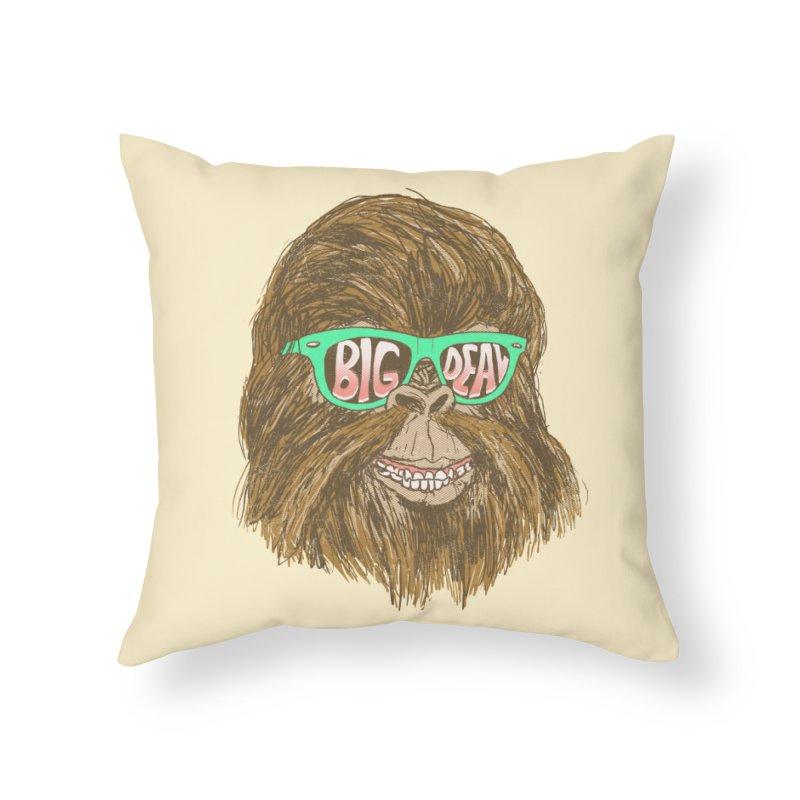 Big Deal Home Throw Pillow by hillarywhiterabbit's Artist Shop