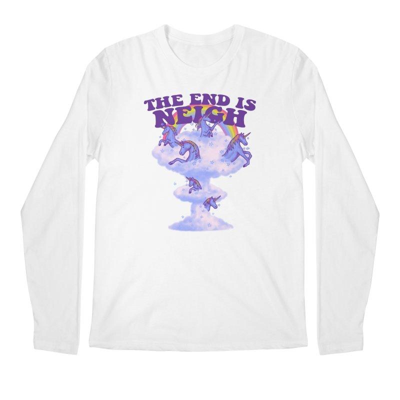 The End Is Neigh Men's Longsleeve T-Shirt by hillarywhiterabbit's Artist Shop
