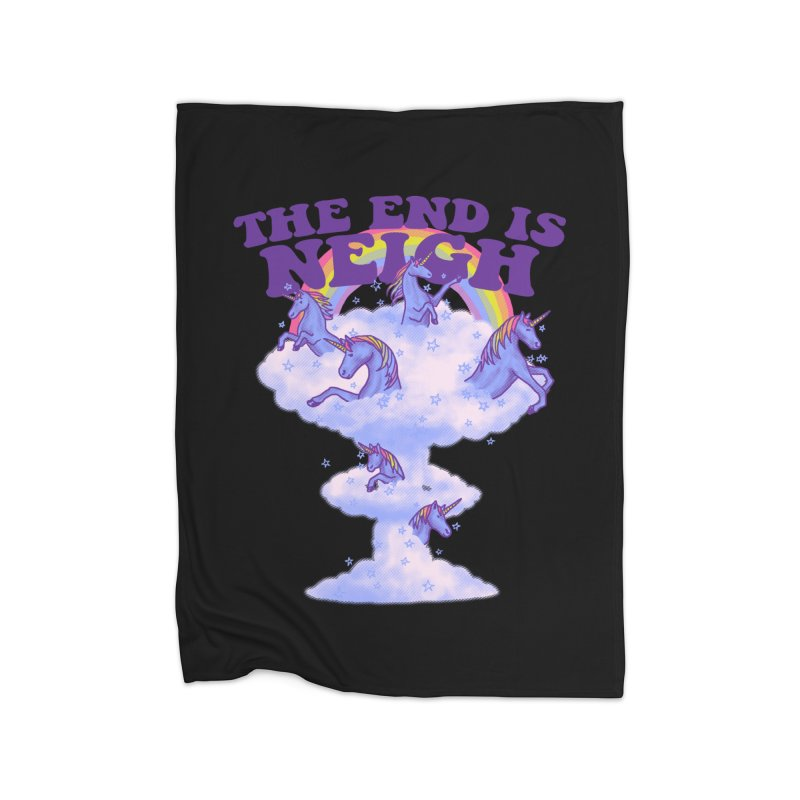 The End Is Neigh Home Blanket by hillarywhiterabbit's Artist Shop