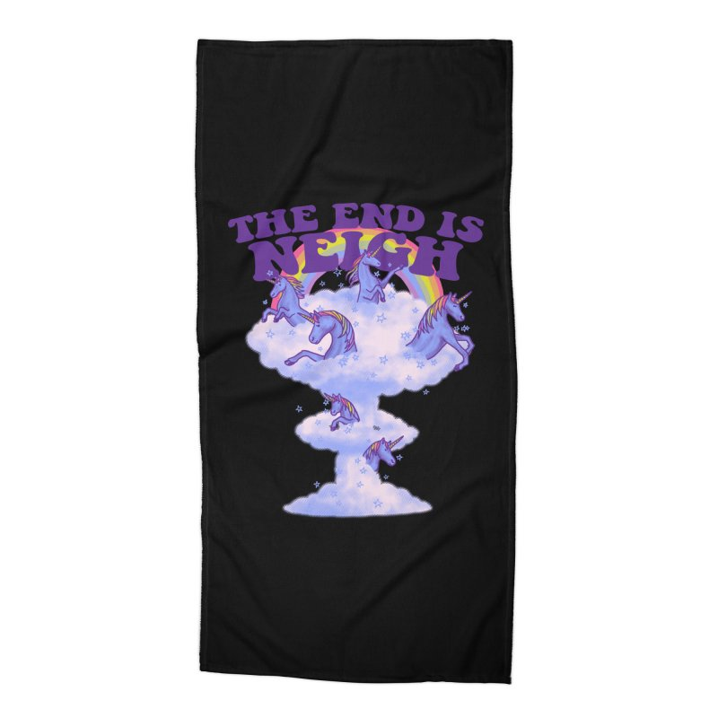 The End Is Neigh Accessories Beach Towel by hillarywhiterabbit's Artist Shop