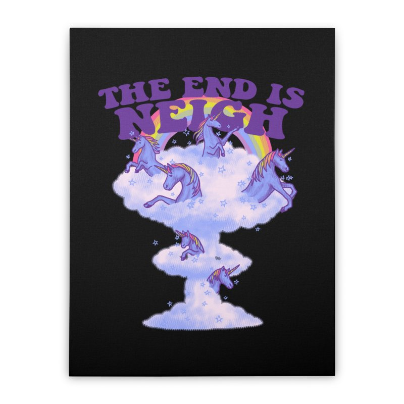 The End Is Neigh Home Stretched Canvas by hillarywhiterabbit's Artist Shop