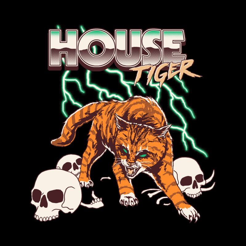 House Tiger Women's T-Shirt by Hillary White Rabbit